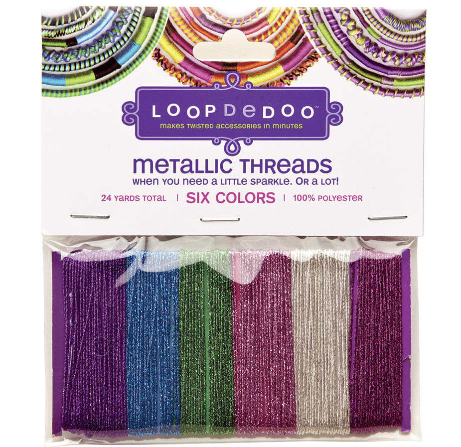 Metallic-thread