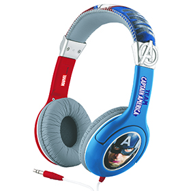 Captain America Civil War Headphones with picture Image