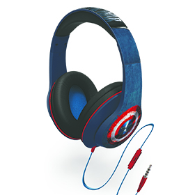 Captain America Civil War Headphones Image