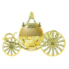 Cinderella Carriage Bluetooth Speaker Image
