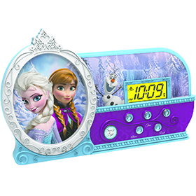 Frozen Night Glow Alarm Clock Image