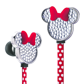 Minnie Mouse Fashion Earbuds Image