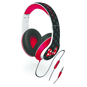 Minnie Mouse Headphones Image